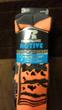 Russell Performance Active socks 3 pack large shoe size 3-9
