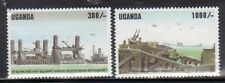 Uganda 1258-59 D Day Invasion Mint NH