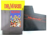 Dr. Mario ORIGINAL Nintendo NES Game Tested w/ Instruction Booklet Manual!