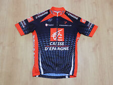 Nalini Pinarello Caisse D'Epargne Cycling Bicycling Jersey Shirt Maglia Top Sz 3
