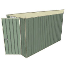 Tunnel Garden Shed Doors Both Ends 3.0 x 1.5 Green