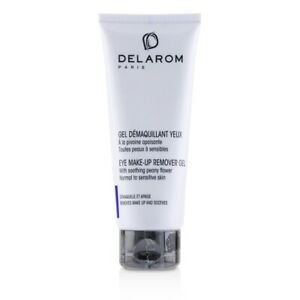 NEW DELAROM Eye Make-Up Remover Gel - For Normal to Sensitive Skin 75ml Womens