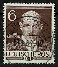 Berlin 93 gestempelt, Mi. 10,-