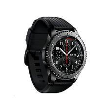 Relojes inteligentes negro Android de silicona/goma