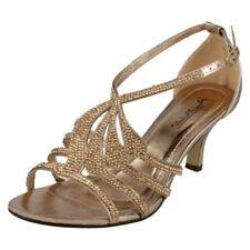 39 Scarpe da donna in oro con cerniera