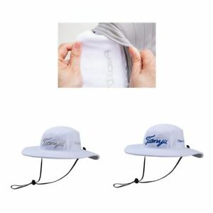 Wide Brim Sun Hat Summer UV Protection Beach Hat Fishing Hat with Adjustable