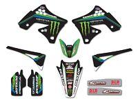 Kawasaki Monster Energy Graphics kit KXF 450 2009 - 2011 Motocross Enjoy