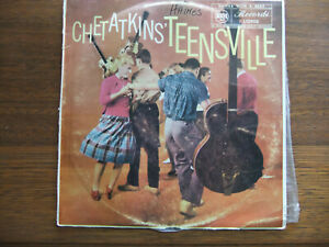 VINYL LP RECORD CHET ATKINS' TEENSVILLE 33RPM ESTATE