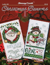 STONEY CREEK Cross Stitch Pattern Leaflet CHRISTMAS BANNERS I Book 290