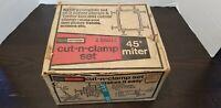 Vintage Craftsman 45 Degree Miter Cut-N-Clamp Set 9-66614