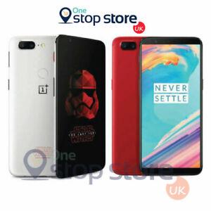 One Plus 5T 128GB Dual SIM Star Wars NU Smartphone NFC 4G - A5010 - White/Red