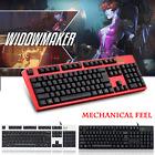 Motospeed K40 USB Wired Backlit Mechanical Feel Gaming Keyboard For PC Desktopd