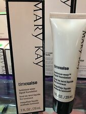 Mary Kay Timewise Luminous-Wear Liquid Foundation Ivory 3 NEW IN BOX!!