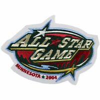 2004 NHL All Star Game Logo Patch Jersey Minnesota Wild