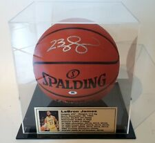 LeBron James Personally Signed Basketball