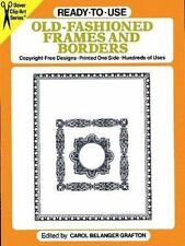 Ready-to-Use Old-Fashioned Frames and Borders (Dover Clip Art)