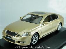 LEXUS GS450H 2006 MODEL CAR 1/43RD SCALE PREMIUM BEIGE COLOUR EXAMPLE T3412Z(=)