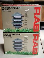 2-RAB Lighting LL22VG Incandescent 4 Tier Lawn Light-Landscape-Path-Green