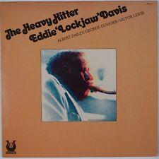 EDDIE LOCKJAW DAVIS: The Heavy Hitter '79 JAZZ Vinyl LP NM- Wax