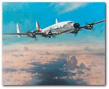 Timeless Beauty by Heinz Krebs - VC-121E Super Constellation - Aviation Art