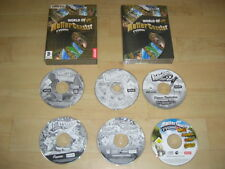 WORLD OF ROLLERCOASTER inc Roller Coaster 2 & 3 + All Expansions for both Pc Cd