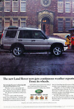 1999 2000 Land Rover Discovery From Its Wheels Vintage Advertisement Ad A24 B