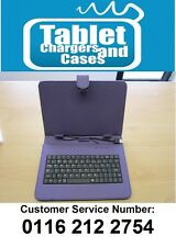 "Purple USB Keyboard Folder Case for CnM 9 inch Touchpad 9"" Versus Tablet"