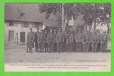 68 - Le Lieutenant-Colonel RICHARD et la Garde du Drapeau du...MONTREUX-VIEUX