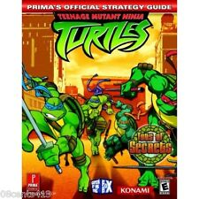 Teenage Mutant Ninja Turtles : Prima's Official Strategy Guide (GC GBA PS2 Xbox)