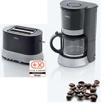 Petra Electric 2er Set  KM 27,07 Kaffeeautomat + TA 27.07 Toaster Küchengeräte