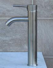 Bathroom Glass Vessel Vanity Sink Nickel Faucet L03