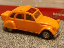 1/87 Herpa Citroen 2 CV mit Queue orange 027632-004