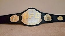 UFC Ultimate Fighting Championship Belt.Dual plated adult size