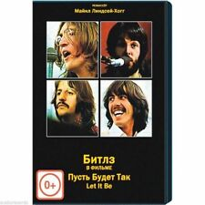The Beatles - Let It Be (Original Official DVD MOVIE) English Russia Region FREE