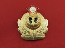 Russian Soviet USSR Military Uniform Navy Insignia Metal Hat Badge Cockade