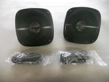 ASA HDS-3000 Surface Mount Black Weatherproof Speakers RV, Motorhome, Boat, Home