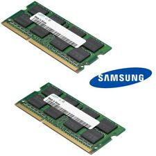 Samsung 4GB Kit (2 x 2GB) 1Rx8 PC3 - 12800S DDR3 Laptop RAM/Memory SODIMM