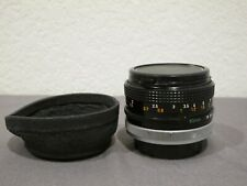 CANON Camera Lens FD 50mm 1:1.8 S.C. f/1.8 SC - Made in Japan