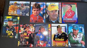 1994 Press Pass Nascar Lot Of 8 Jeff Gordon Bobby Davey Allison + Prizm Larson