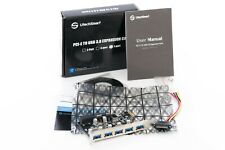 PCI-E to USB 3.0 7-Port Expansion Card by UtechSmart NEW
