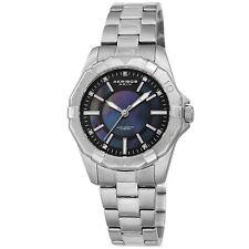 Spring Release Women's Akribos XXIV Ak1006SSB Silver Tone Stainless Steel Watch