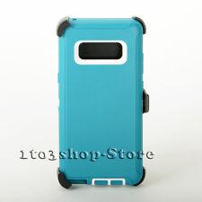 Samsung Galaxy Note 8 Defender Shockproof Hard Shell Case w/Holster Belt Clip