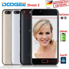 Android 7.0 Smartphone DTOUCH 5.0 ZOLL DOOGEE Shoot 2 Quad Core 2+16GB Handy EU