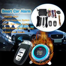 Car Alarm Smart System PKE Passive Keyless Entry Remote Lock Auto Burglar Alarm