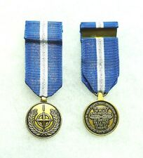 NATO medal, The Balkans, miniature, US DoD approved for wear