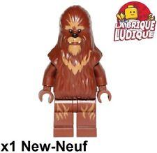 Lego - Figürchen Minifig Star Wars Wookiee Chewbacca Flor Brown sw0713 Neu