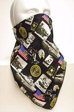 Army fleece lined bandana motorcycle hunting face mask