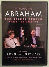 INTRODUCING ABRAHAM featuring esther and jerry hicks  DVD 2 disc set
