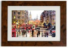London Landscape  Framed Print by Richard Macneil
