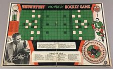 1934 LONDON TECUMSEH Premium HOCKEY BOARD GAME Supertest Gas Vtg Rare Schedule